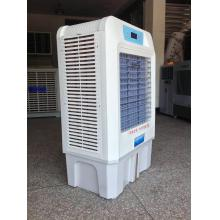 Residential evaporative air cooler fresh air