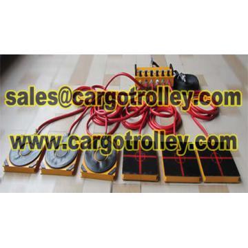 Air bearings transporters factory