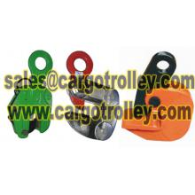 Steel plate lifting clamps manufacturer