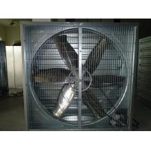 Industrial exhaust fan with galvanized steel