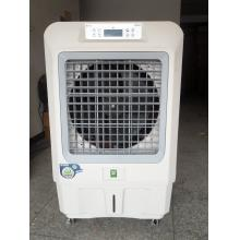 Household evaporative air cooler