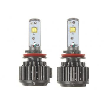 Truck Automotive LED Headlights H9 replacement with Mini LED driver