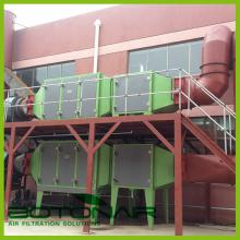 Oil Mist extractor for PVC calendaring process